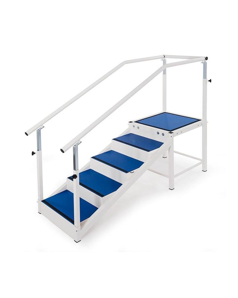 escalier de r ducation 5 marches kine stock. Black Bedroom Furniture Sets. Home Design Ideas
