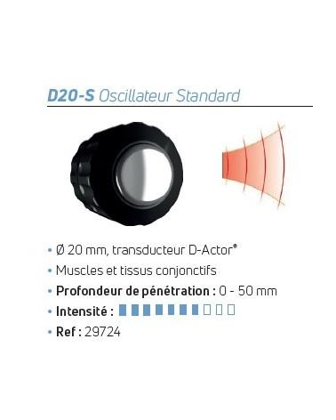 Transducteur D-Actor® D20-S Oscillateur Standard