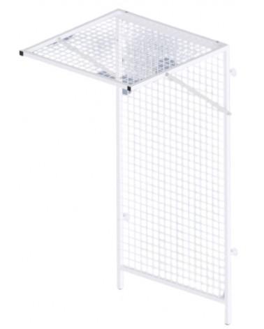 Cage toit + fond de Pouliethérapie