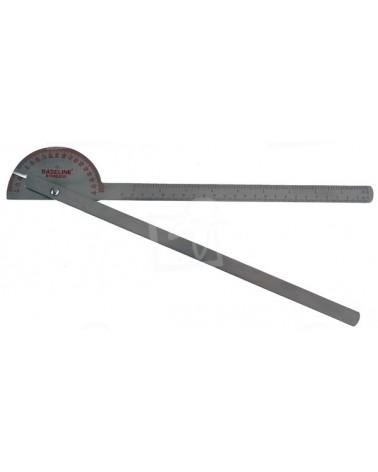 Goniomètre métal 180 ° pas de 1°