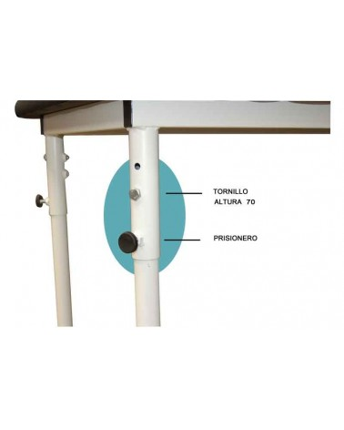 Table  fixes - 3 hauteurs