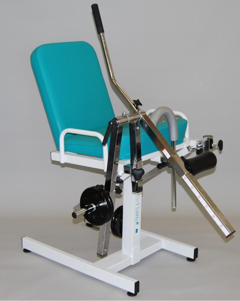 Fauteuil quadriceps ischios kine stock for Chaise quadriceps