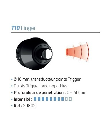 Transducteur D-Actor® T10 Finger
