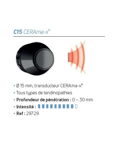 Transducteur D-Actor® C 15 CERAma-x®
