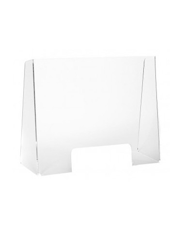 GRAND ECRAN PROTECTION POUR COMPTOIR - larg 60 x H70 x Prof 20 cm