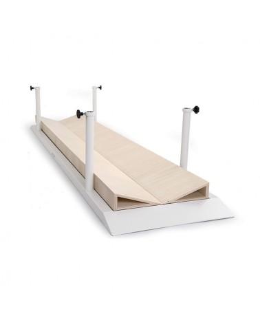 Parcours concave/convexe pour barres parallèles