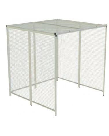 Cages de poulithérapie 8 panneaux