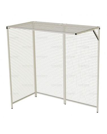 """Cages de poulithérapie """"coin d'angle 4 panneaux"""""""