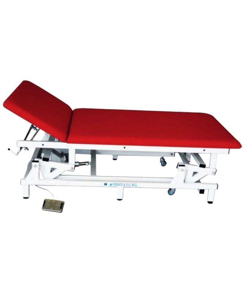 Table Bobath électrique a tetiere relevable 2 M X 1 M