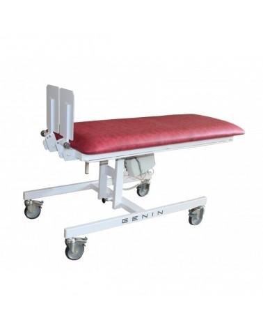Table de verticalisation éléctrique à hauteur fixe, dimensions pédiatriques.